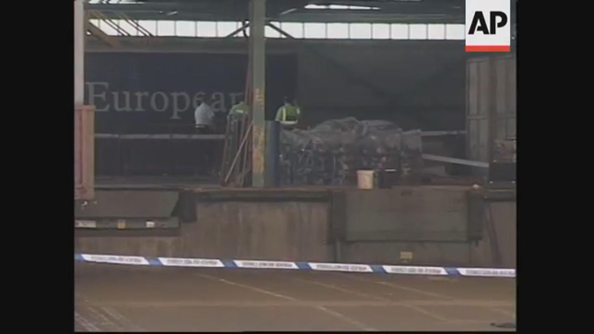 英國曾發現貨櫃車內有58個中國人死亡