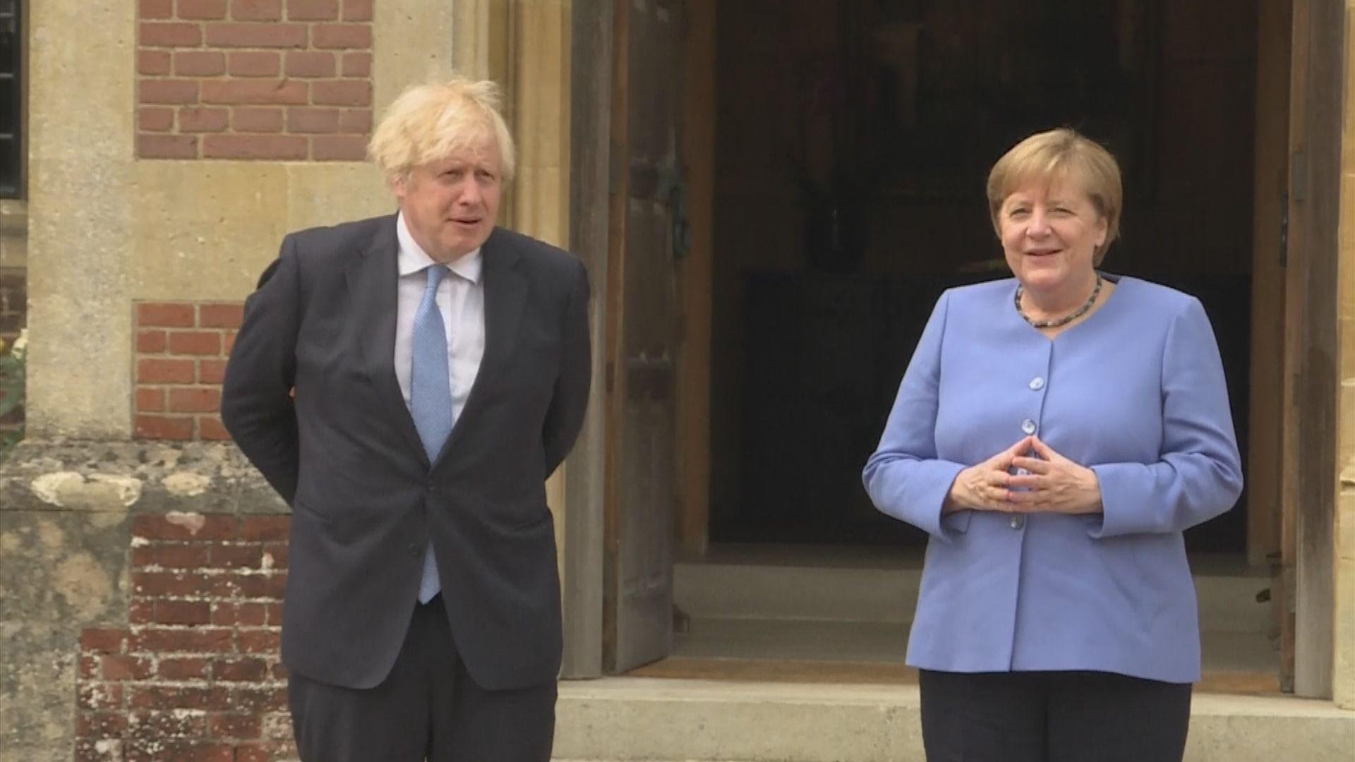 德國總理默克爾任內最後一次訪英