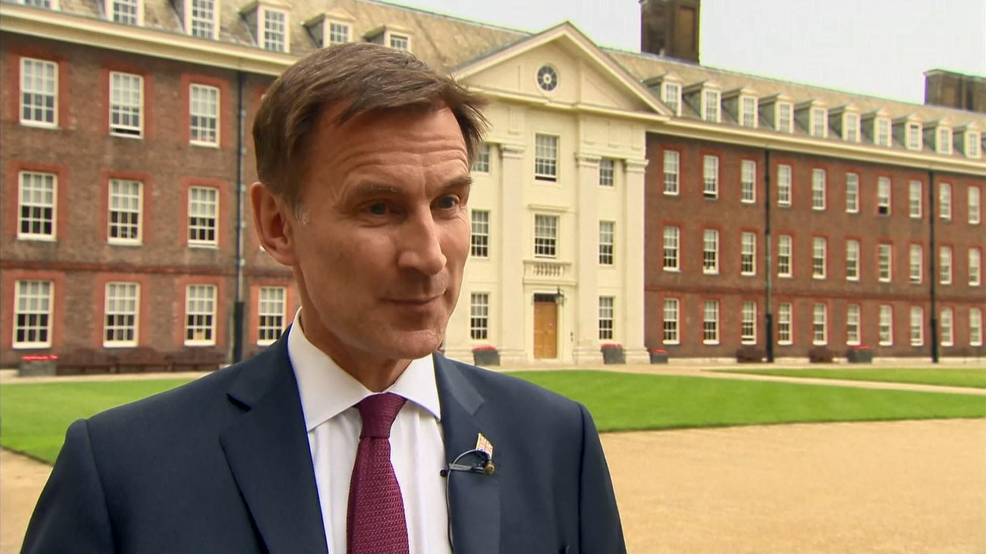 英外相:中英聯合聲明時至今日仍然有效