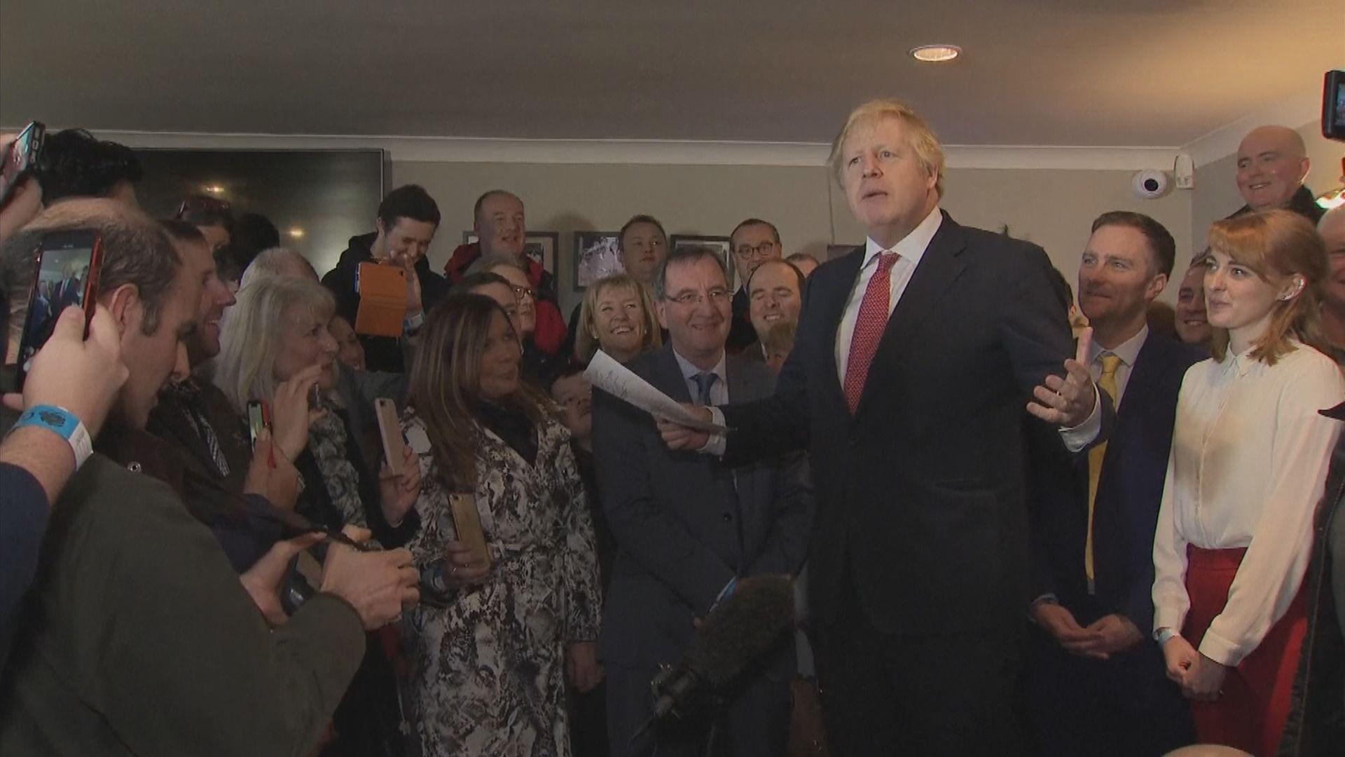 約翰遜到英格蘭東北部謝票