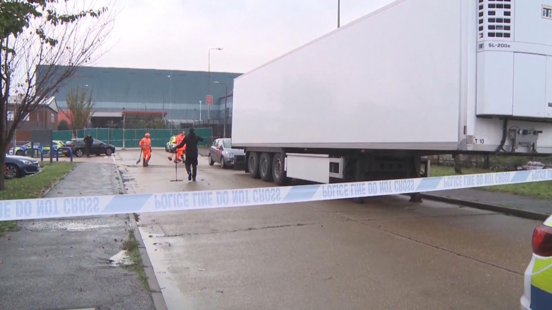 英警確認貨櫃車死者全為越南人