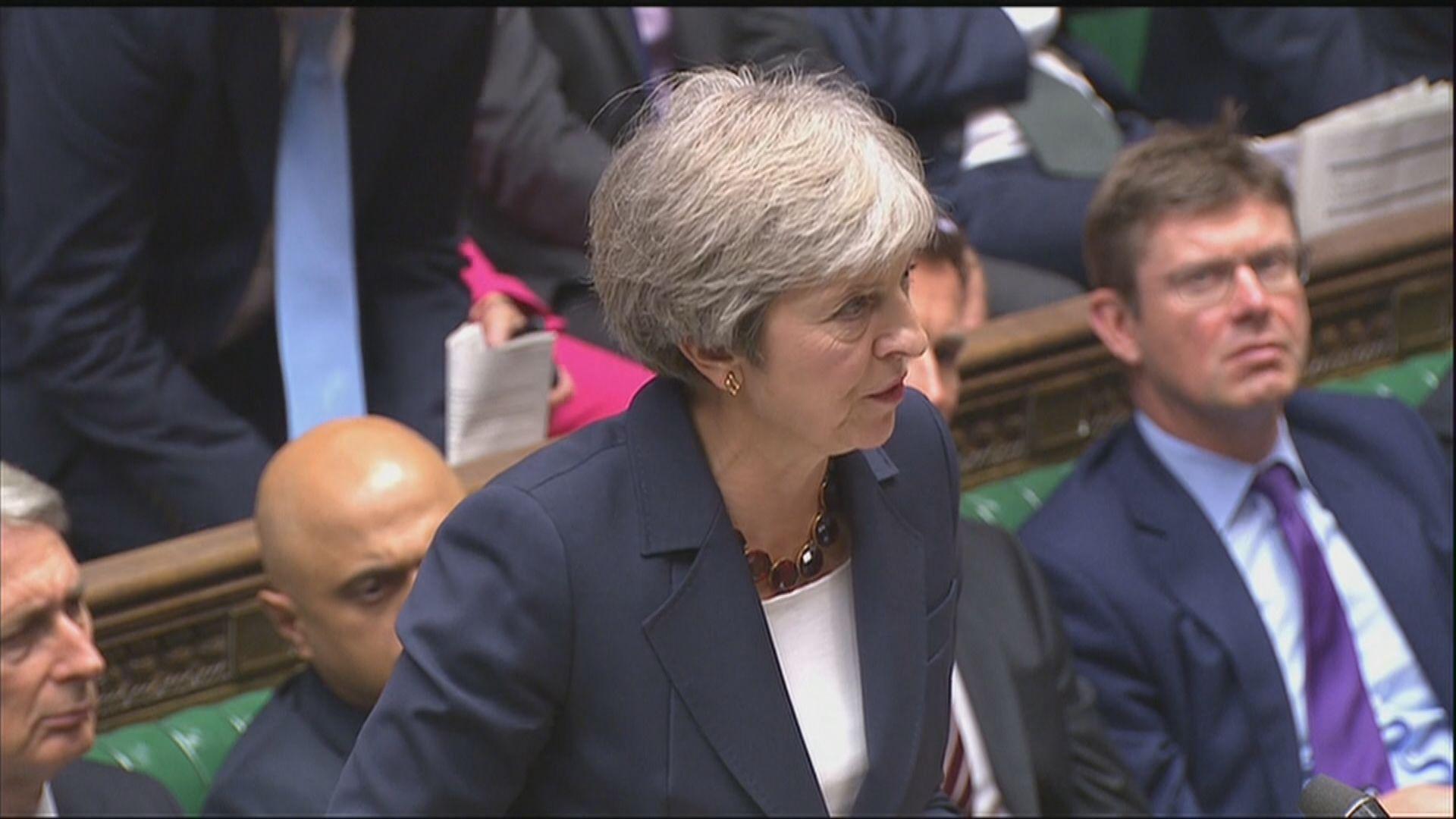 文翠珊繼續為脫歐協議草案爭取支持