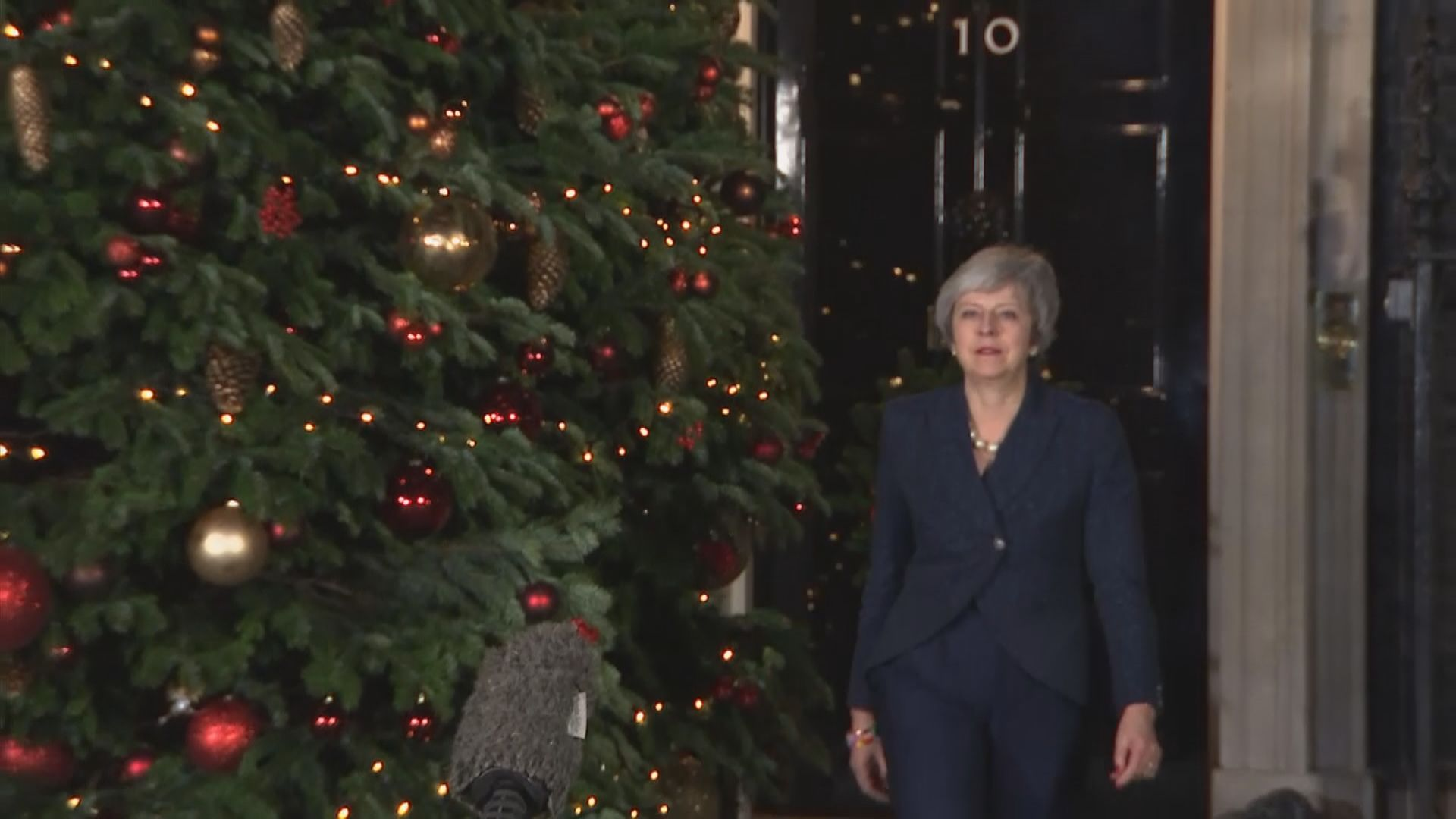 文翠珊避過保守黨逼宮 指會全力推動脫歐