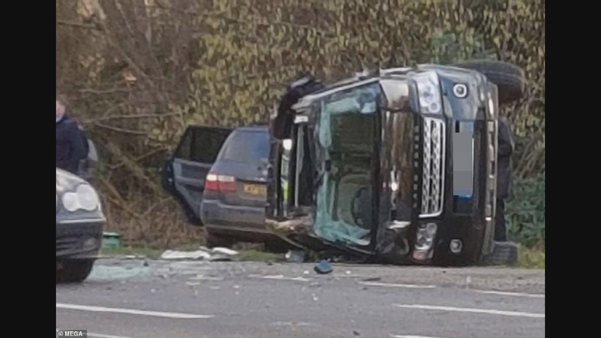 英國菲臘親王撞車無受傷