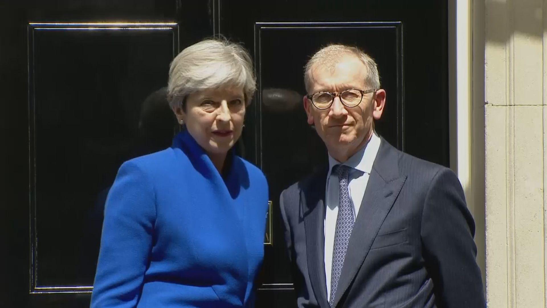 報道指文翠珊丈夫就脫歐談判出謀獻策