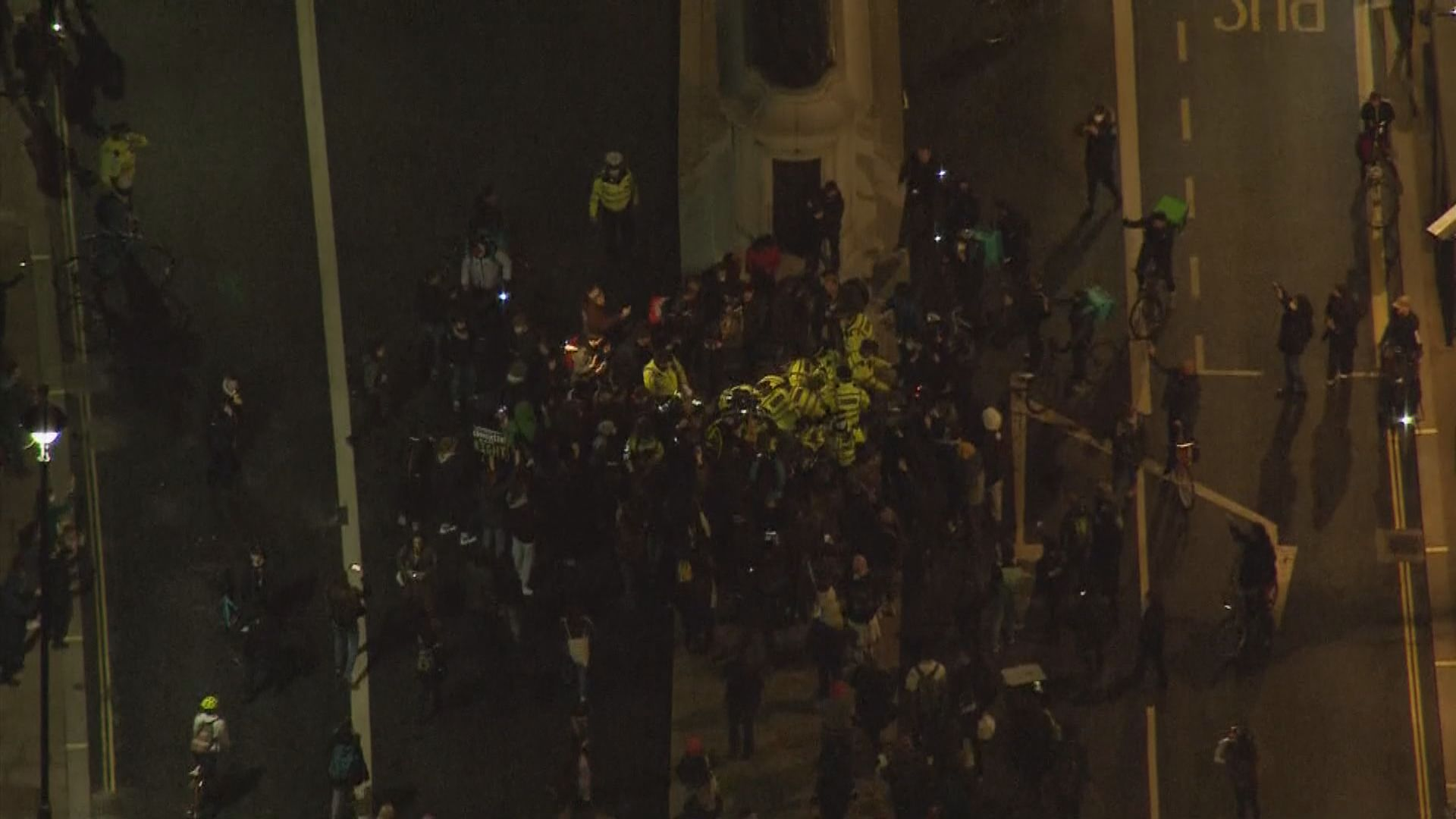 倫敦繼續有示威 悼念疑被警員殺害女子