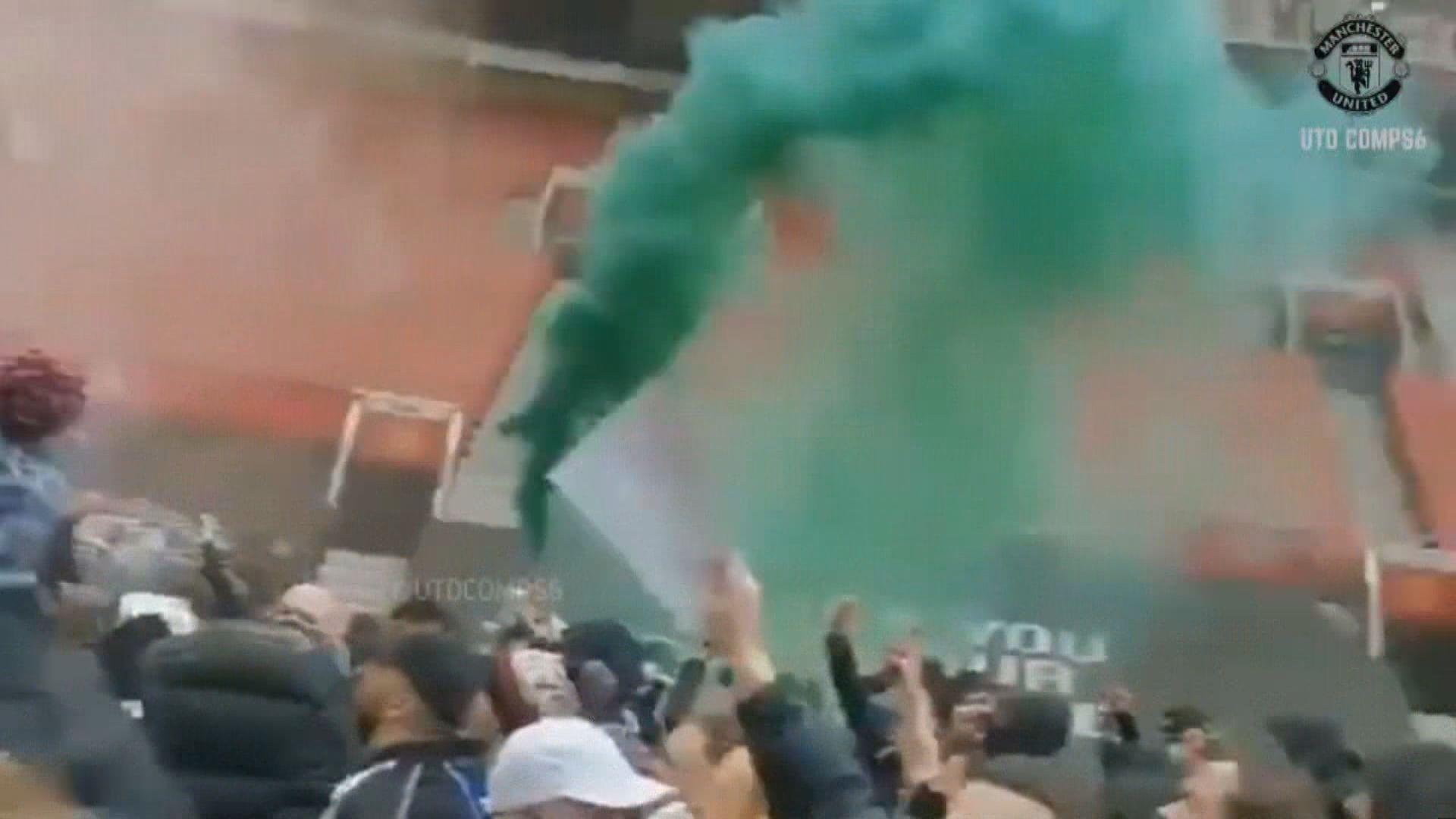 英超聯首次因球迷示威而押後賽事