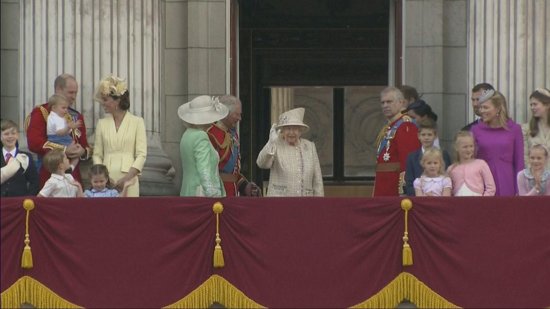 英女王出席官方壽辰慶祝活動