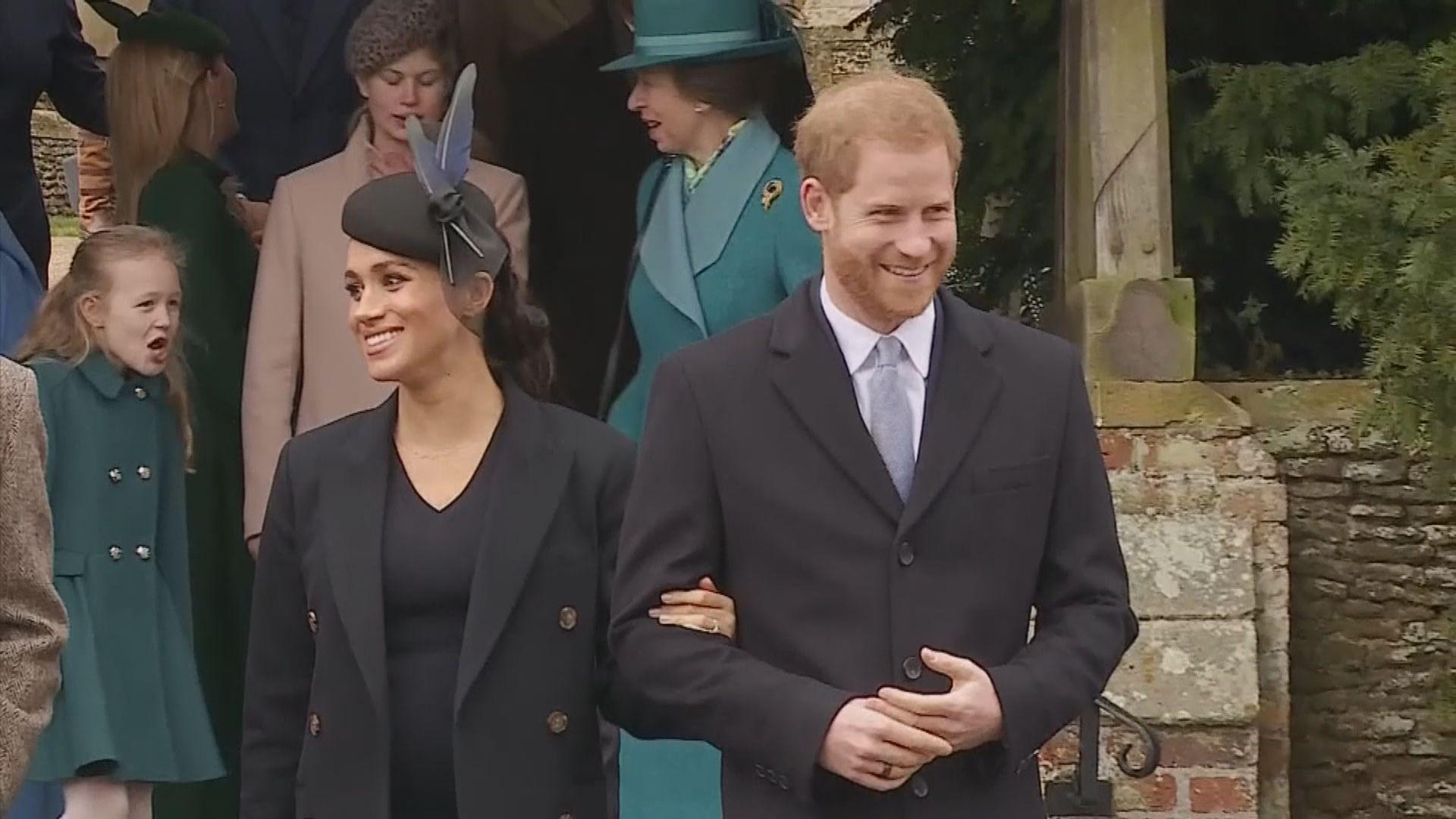 英女王:尊重哈里夫婦更獨立生活意願