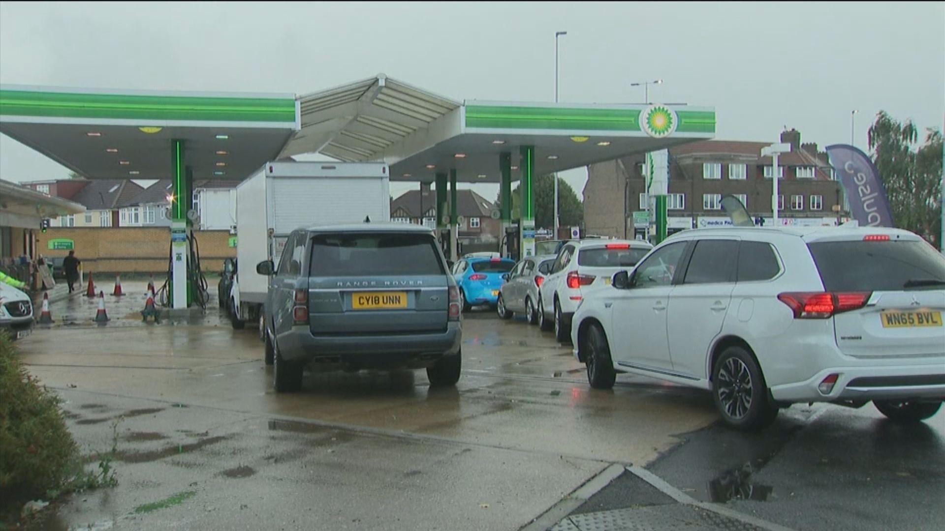 消息指英燃油危機仍會持續多一個月