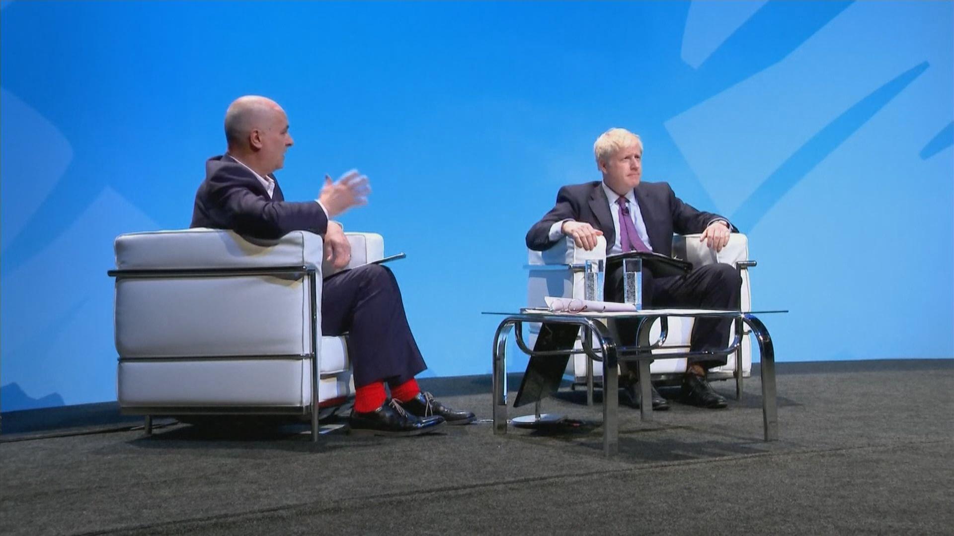 英國保守黨兩名黨魁候選人展開競選活動