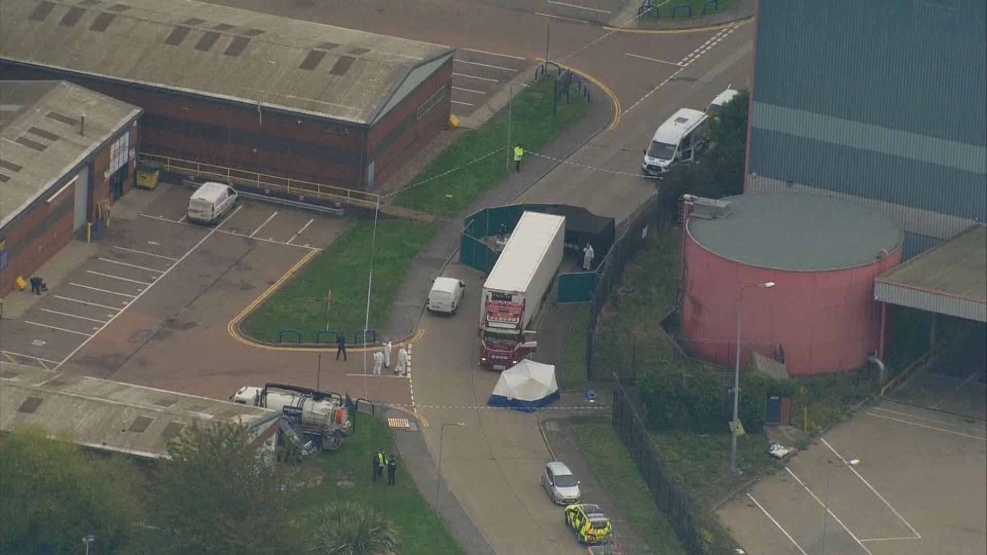 英國貨櫃車發現屍體案或涉超一百名非法入境者