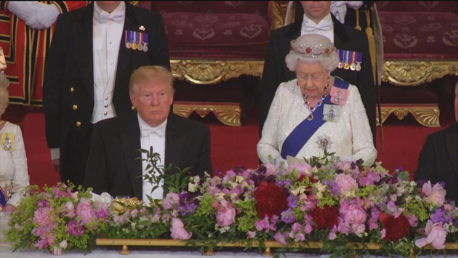 白金漢宮為特朗普設國宴