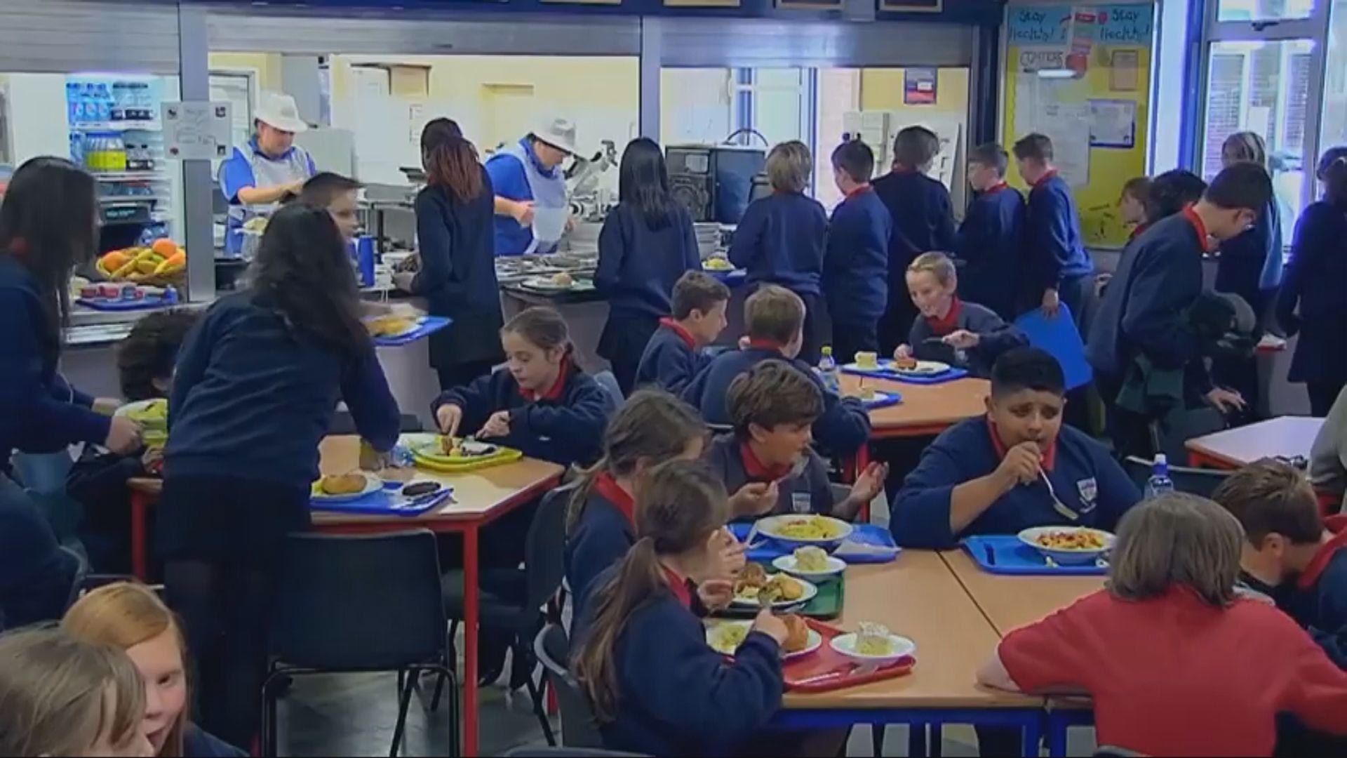 聯合國兒童基金會首度支援英國兒童膳食 下議院領袖批屬政治炒作