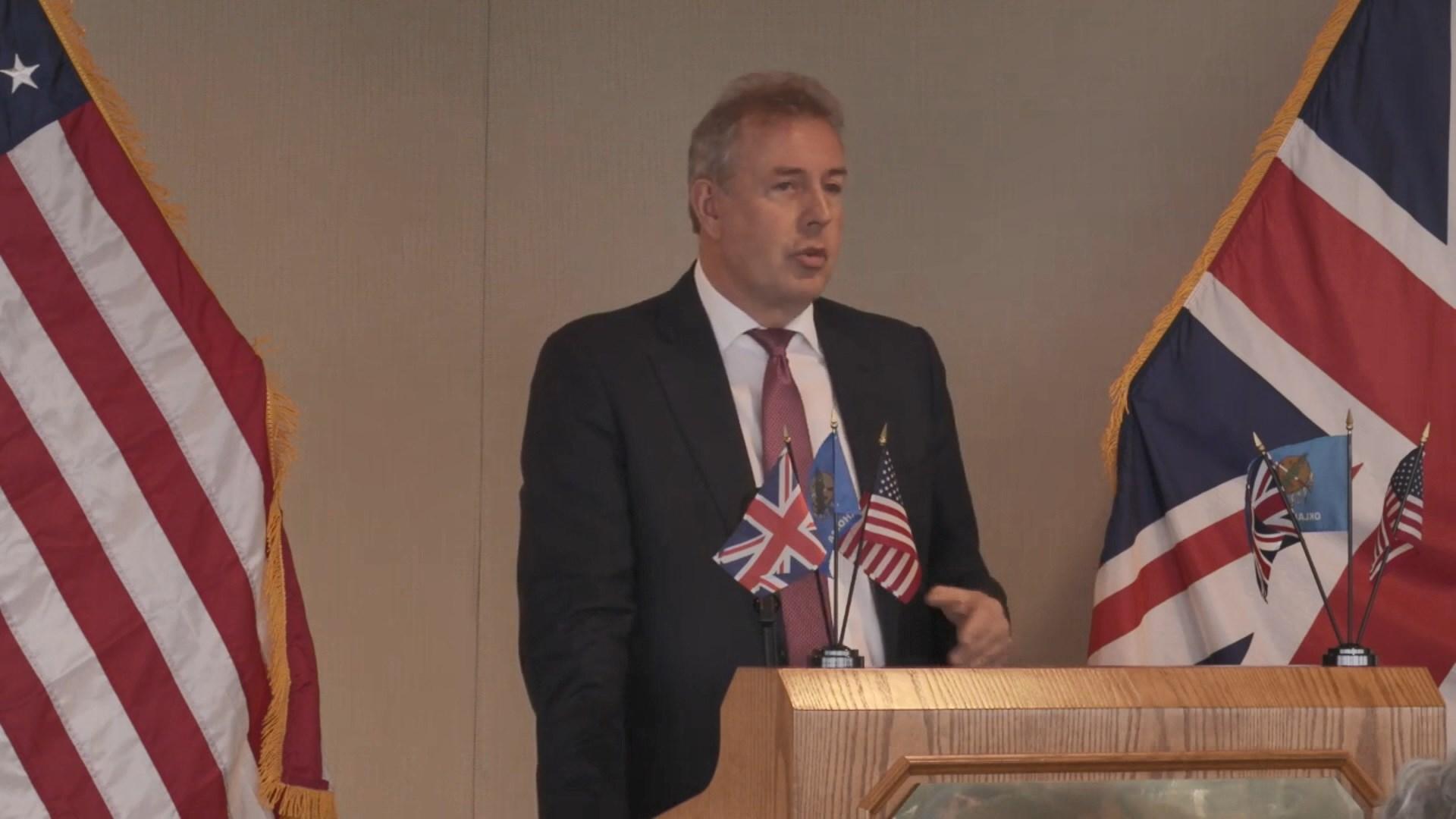 英國駐美大使達羅克宣布辭職