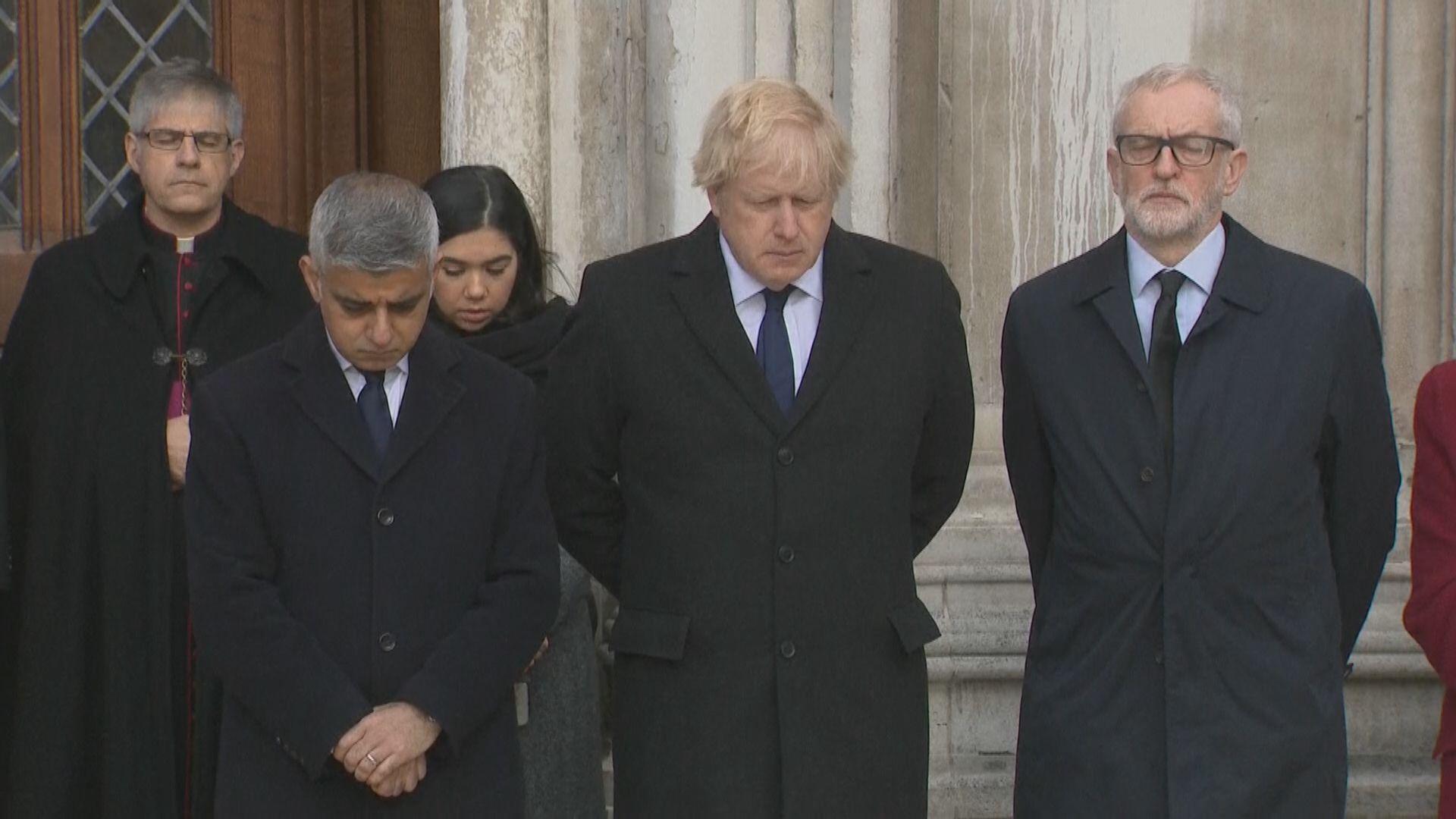 倫敦巿政廳舉行儀式悼念倫敦橋恐襲2名死者