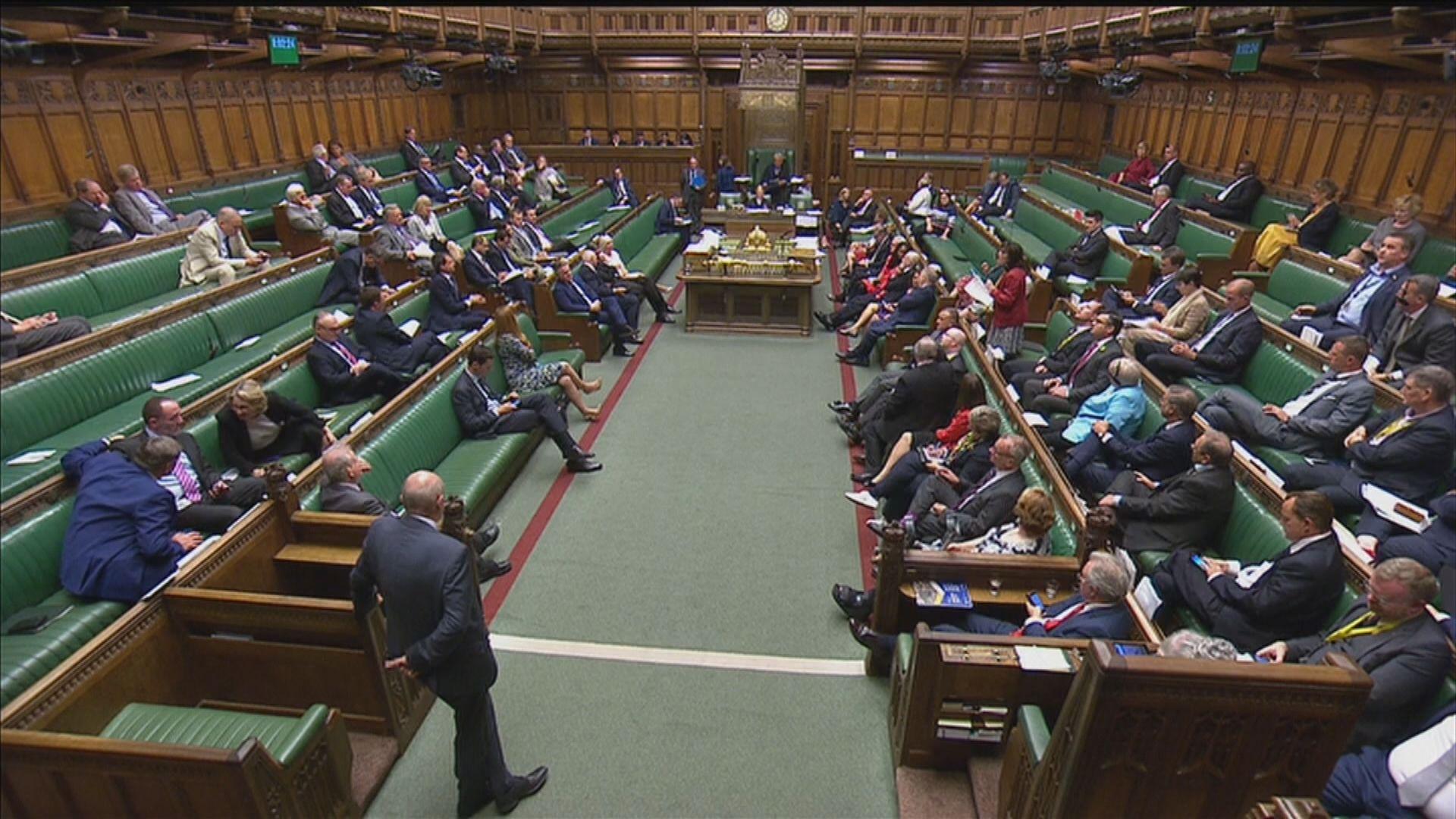 英下議院通過在野黨議員控制下議院