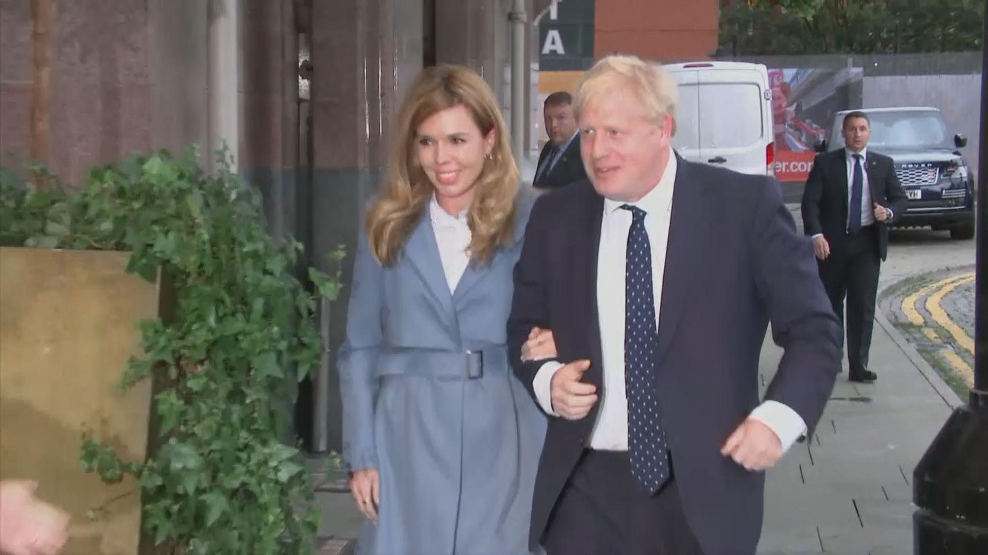 英國首相府證實約翰遜結婚 報道指其幕僚事前毫不知情