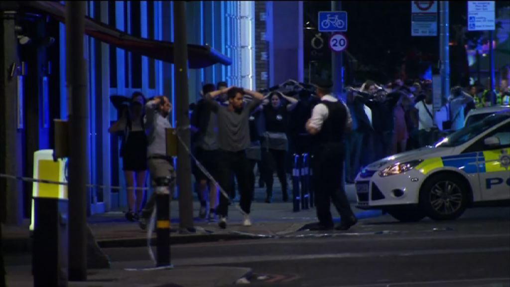 倫敦恐襲多人死傷 三名疑兇被擊斃