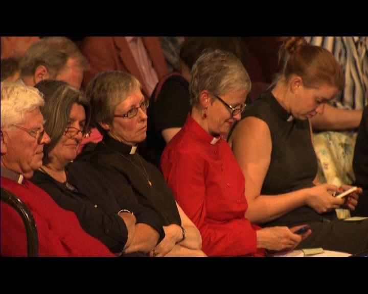 英國聖公會容許女性擔任主教