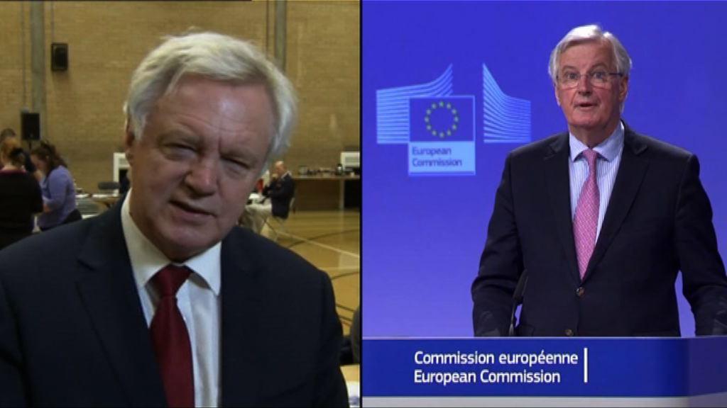英國與歐盟如期下周一展開脫歐談判