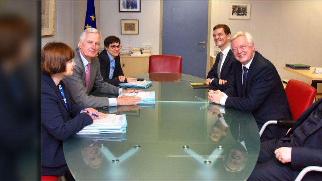 英國與歐盟展開新一輪脫歐談判