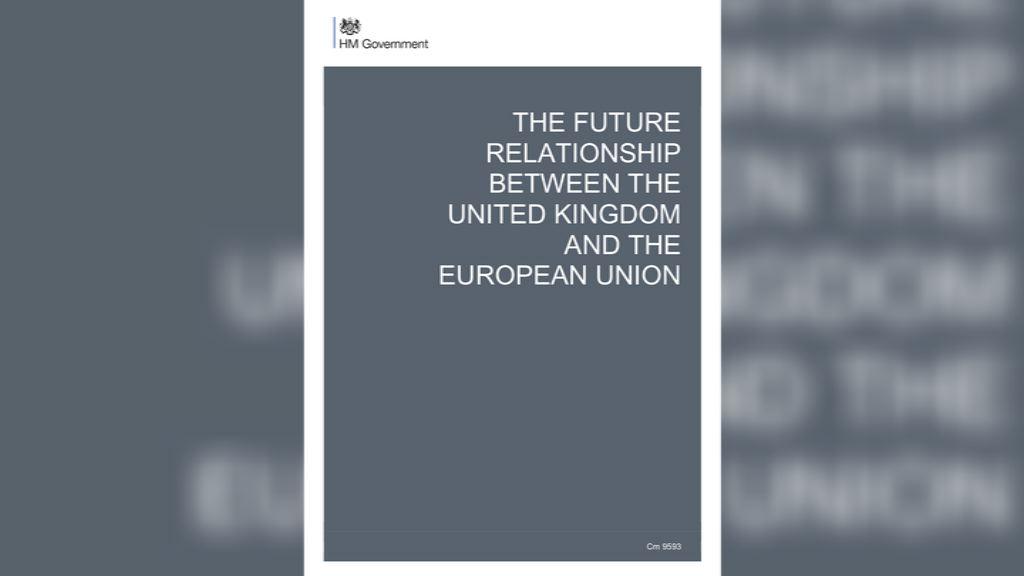 英國公布脫歐白皮書