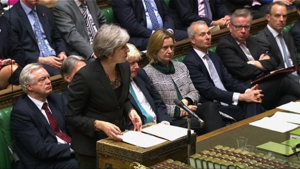 文翠珊:有信心年底展開脫歐貿易談判