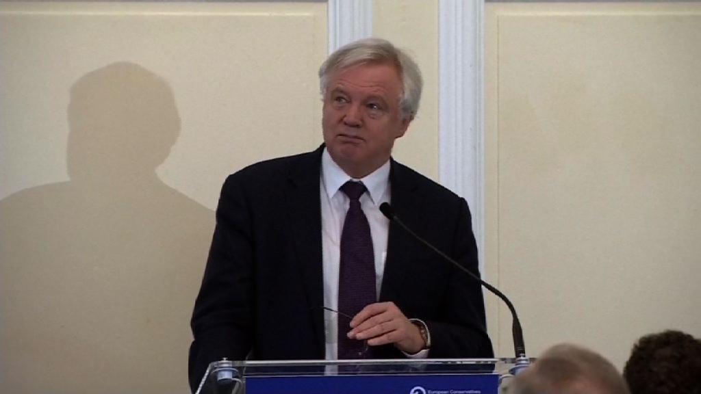 戴德偉:須與歐盟磋商未來關係