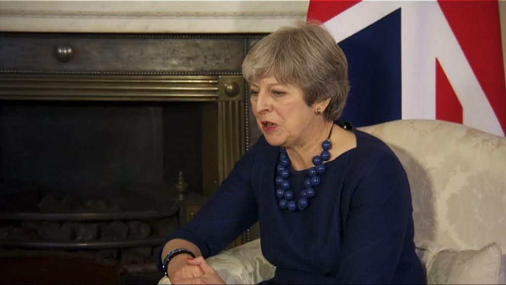 文翠珊對脫歐談判仍充滿信心