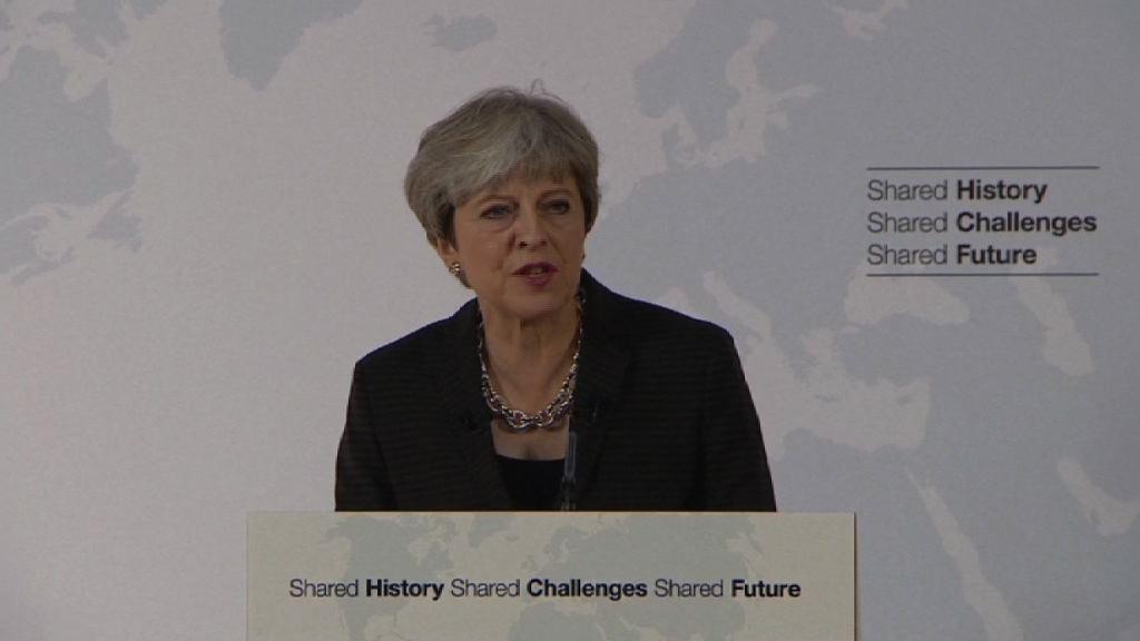 文翠珊再闡述英方脫歐立場