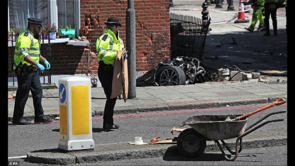 倫敦有私家車撞入房屋地庫釀一死