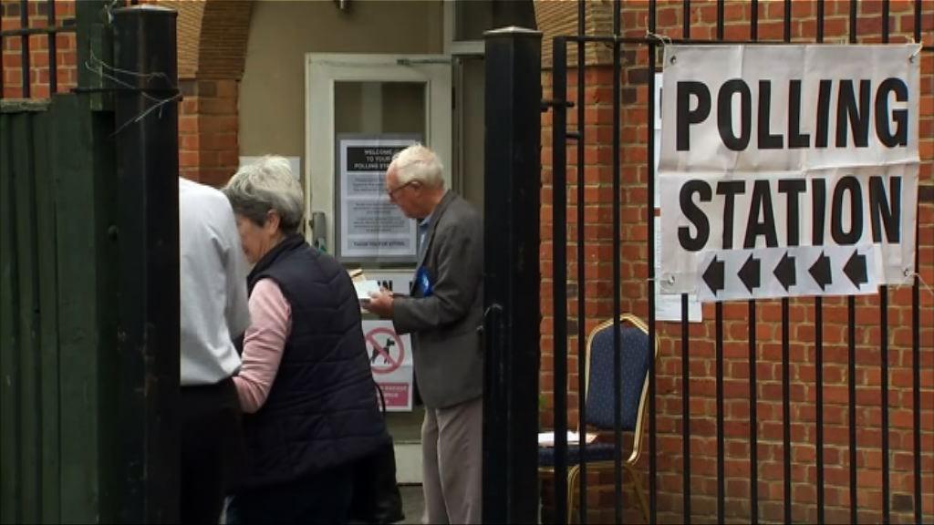 英國大選預料保守黨將勝出
