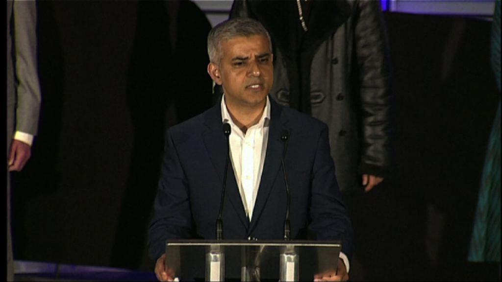 薩迪克汗成為倫敦首名穆斯林市長