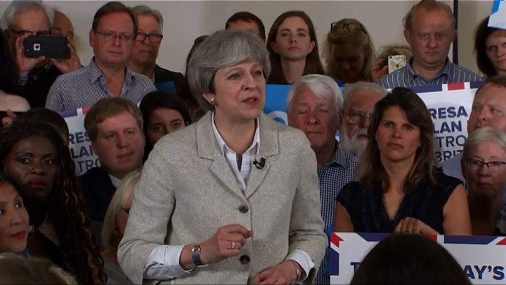 文翠珊遭質疑退歐談判能否堅守立場