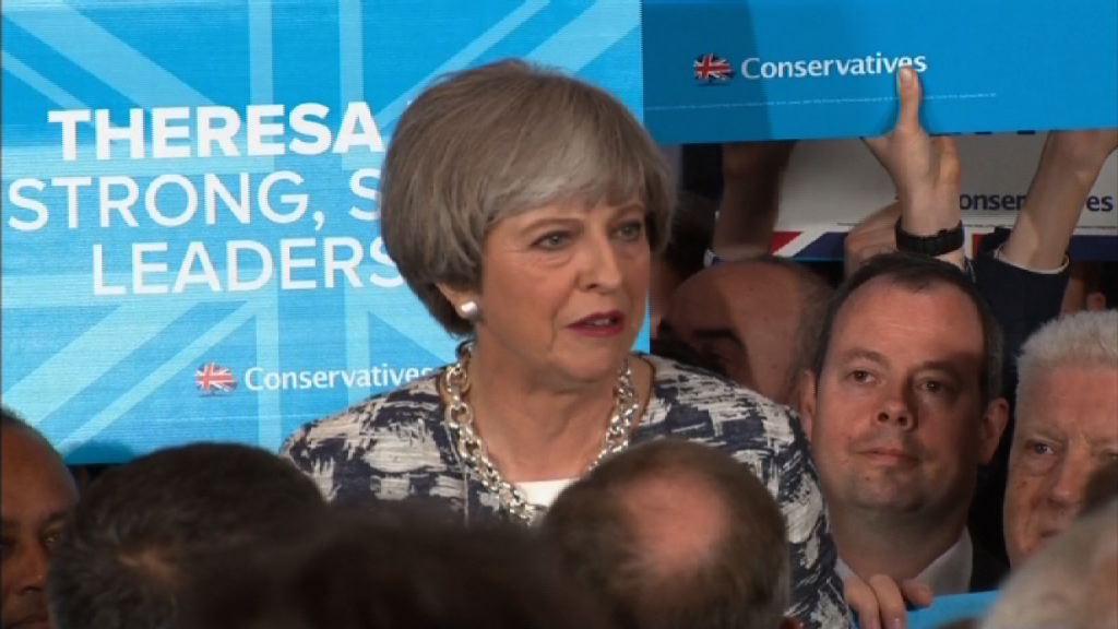 英國大選前夕文翠珊聚焦脫歐議題