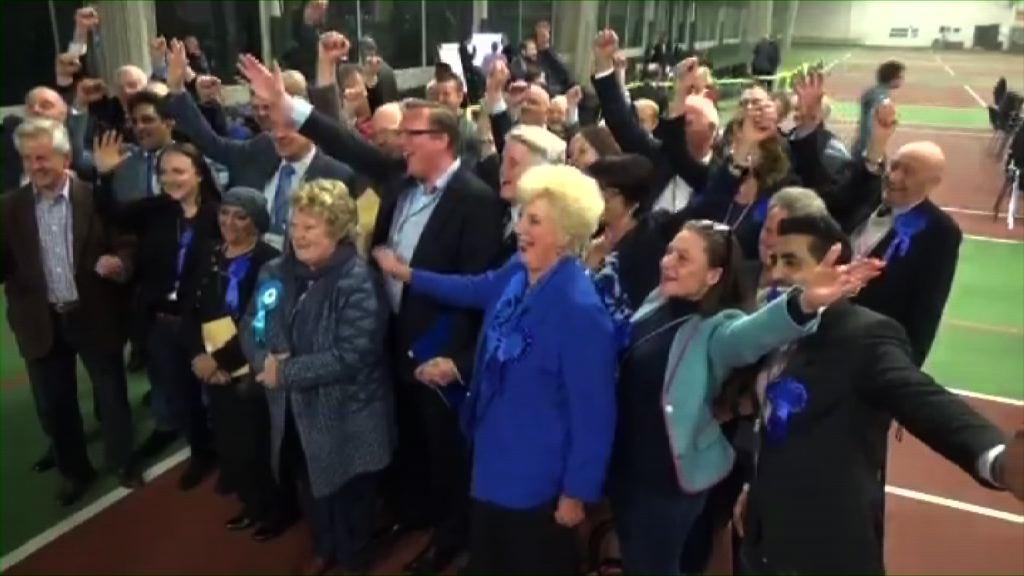 英國地方選舉保守黨佔先 或有助下月大選