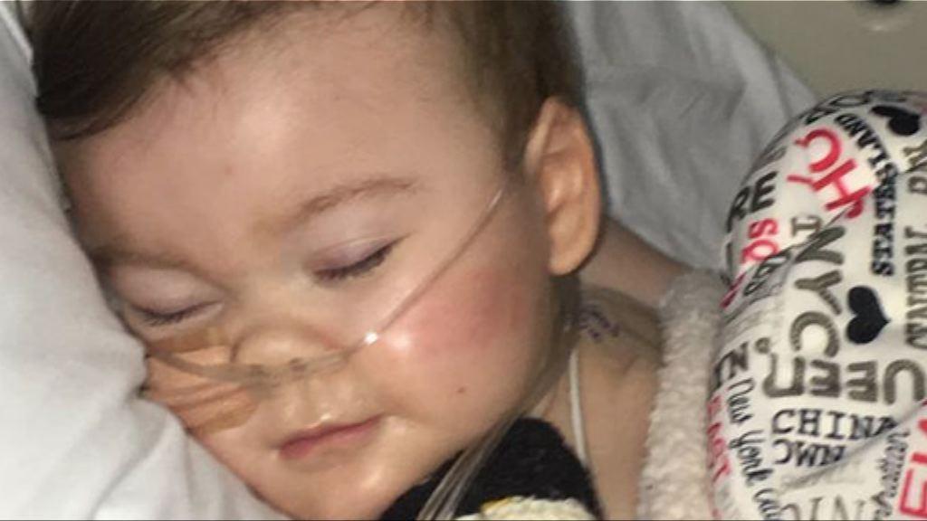 英植物人男嬰拔喉五日後離世