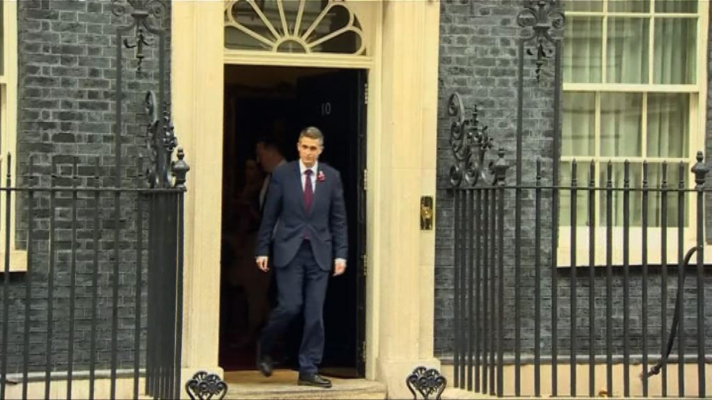 英保守黨黨鞭韋廉信出任新防相