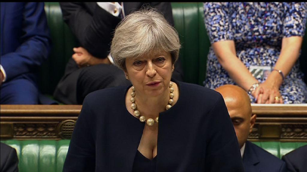 倫敦大火 文翠珊:地方議會行政首長辭職決定正確