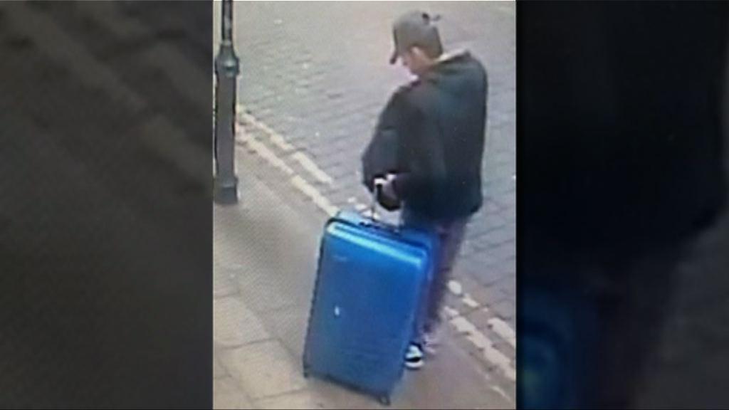 曼徹斯特恐襲案 英警發放疑犯阿貝迪拖行李箱圖片