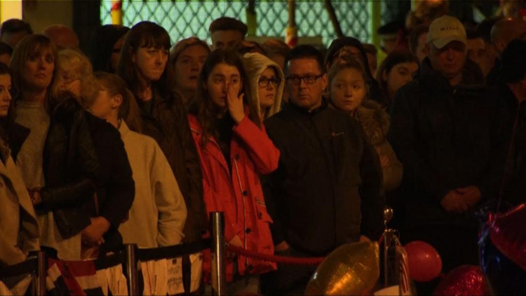 曼徹斯特恐襲一周民眾默哀悼念