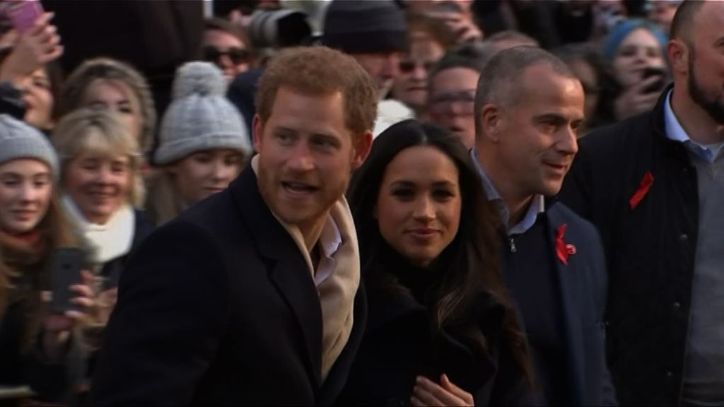 哈里王子下月婚禮不會邀請政要出席