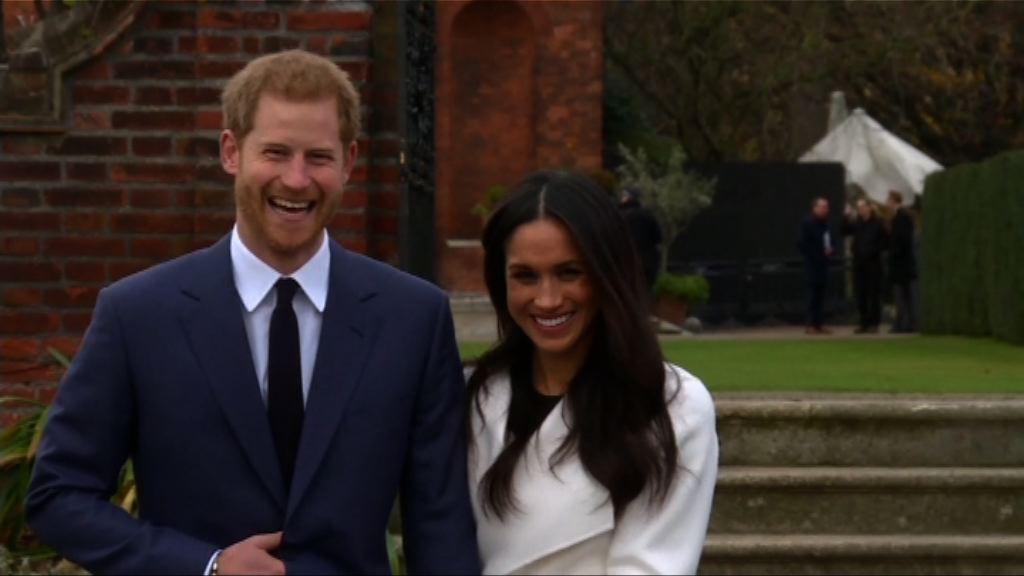 英國哈里王子明年5月19日結婚