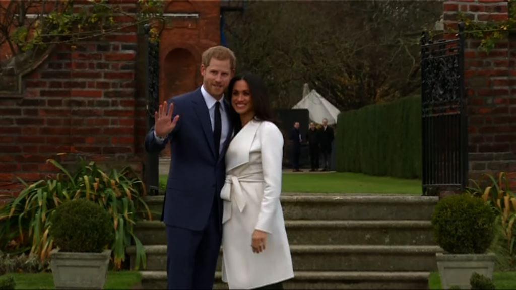 哈里王子明年五月於溫莎堡舉行婚禮