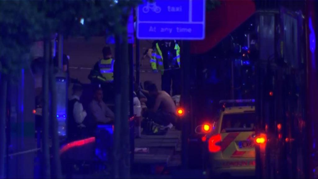 英國倫敦連環襲擊至少一死