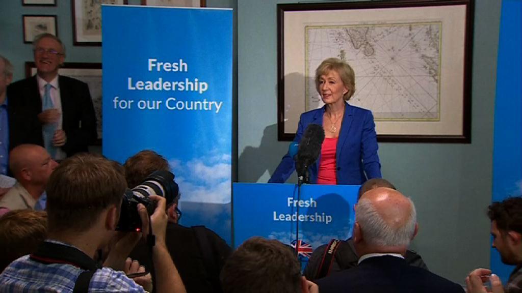 英保守黨黨魁選舉 李德森和文翠珊勢均力敵