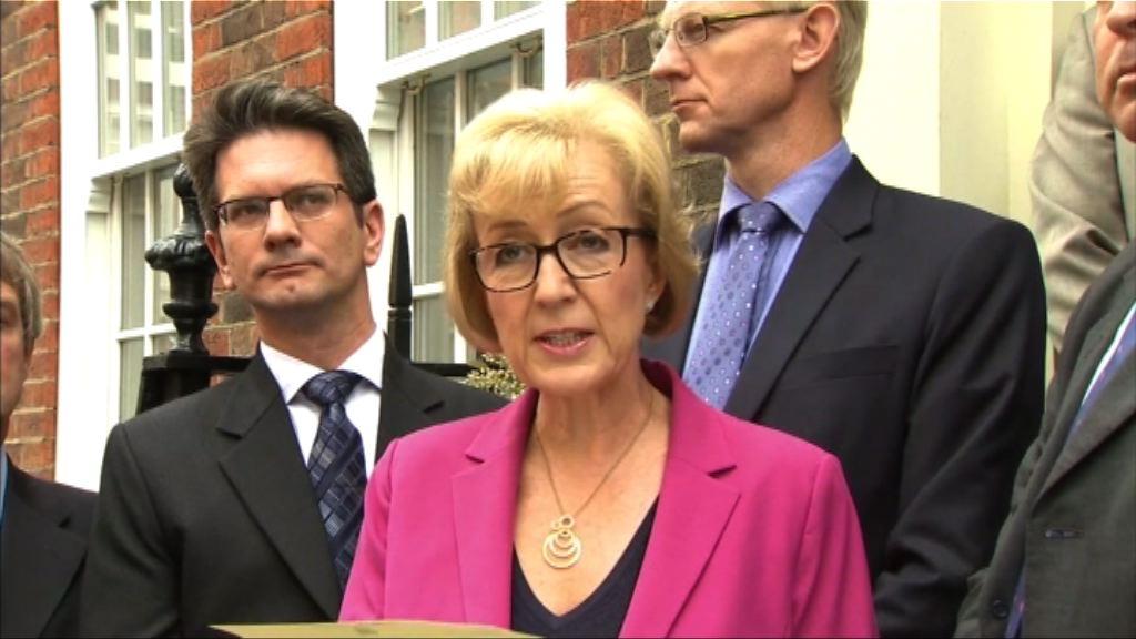李德森退出競逐英國保守黨黨魁