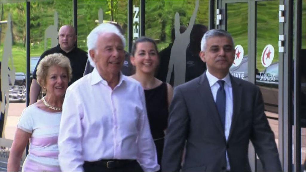 新任倫敦市長出席首個官方活動