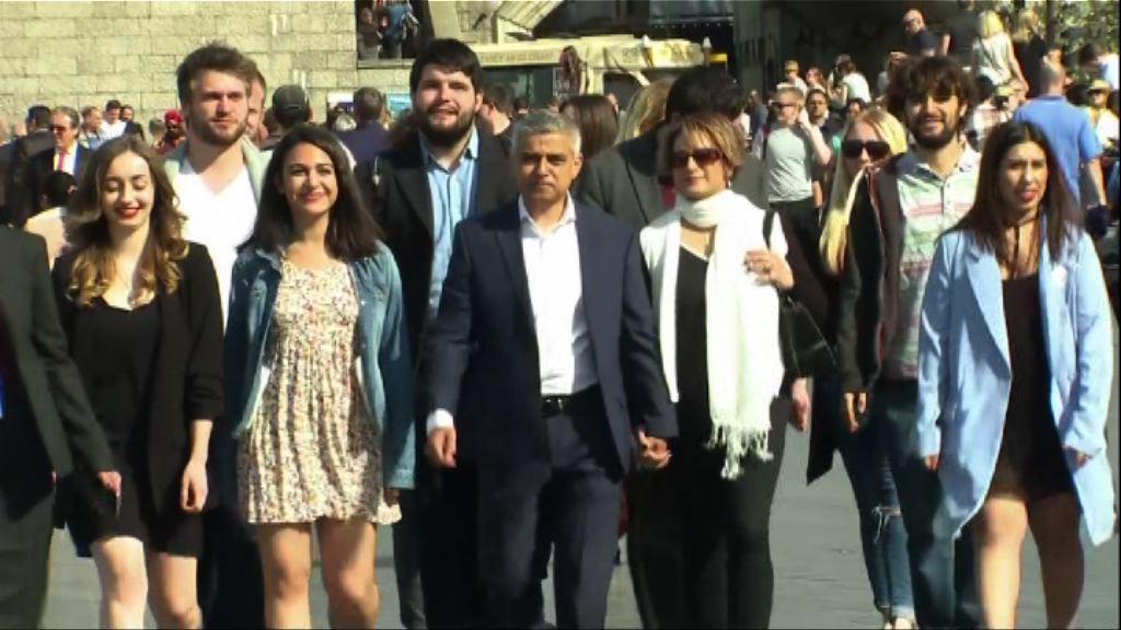 薩迪克汗當選倫敦市長